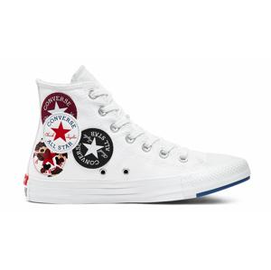 Converse Logo Play Chuck Taylor All Star High Top biele 166735C - vyskúšajte osobne v obchode