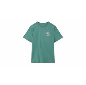 Converse T-shirt Puuffed Chuck Patch zelené 10021631-A04 - vyskúšajte osobne v obchode