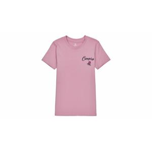 Converse W Hangin' Out Classic Tee ružové 10020554-A03 - vyskúšajte osobne v obchode