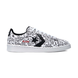 """Converse x Keith Haring Pro Leather Low """"All Over"""" farebné 171857C"""