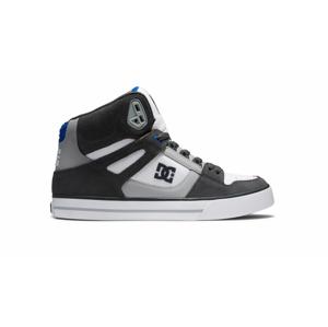 DC Shoes Pure High Top WC GreyWhiteBlue 7.5 šedé ADYS400043-XSWB-7.5