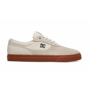 DC Shoes Switch White/White/Gum šedé ADYS300431-HWG - vyskúšajte osobne v obchode