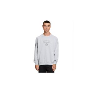Dedicated Sweatshirt Malmoe Local Planet Grey Melange šedé 18338 - vyskúšajte osobne v obchode
