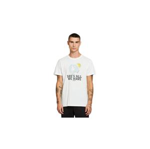 Dedicated T-shirt Stockholm All We Have Off-White L biele 18278-L