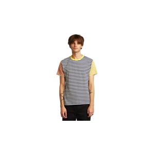 Dedicated T-shirt Stockholm Block Stripes Multi Color farebné 18549 - vyskúšajte osobne v obchode