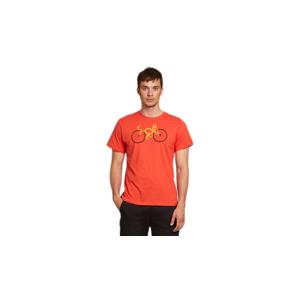 Dedicated T-shirt Stockholm Cyclopath Pale Red červené 18284 - vyskúšajte osobne v obchode
