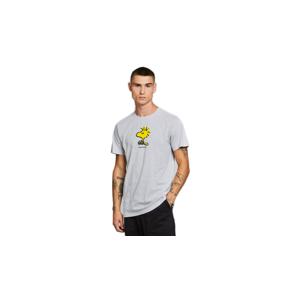 Dedicated T-shirt Stockholm Woodstock Grey Melange šedé 18780 - vyskúšajte osobne v obchode