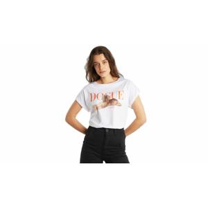 Dedicated T-shirt Visby Dogue Pawetry-M biele 17981-M