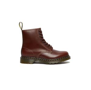 Dr. Martens 1460 Abruzzo Leather Lace Up Boots hnedé DM26906201
