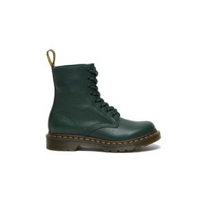 Dr. Martens 1460 Pascal Virginia Leather Boots-5 zelené DM26902328-5