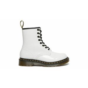 Dr. Martens 1460 Patent Lamper Boots W biele DM11821104 - vyskúšajte osobne v obchode