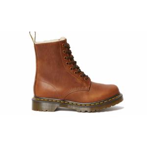 Dr. Martens 1460 Serena Faux Fur Lined Ankle Boots hnedé DM23912243