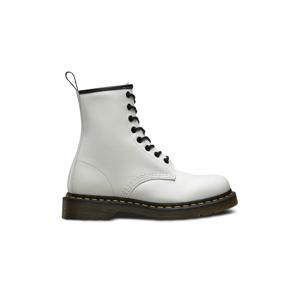 Dr. Martens 1460 Smooth White biele DM11822100 - vyskúšajte osobne v obchode
