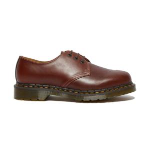 Dr. Martens 1461 Abruzzo Leather Oxford Shoes červené DM26911201