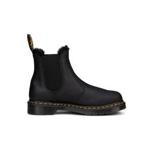 Dr. Martens 2976 Faux Fur Lined Chelsea Boots čierne DM26333001