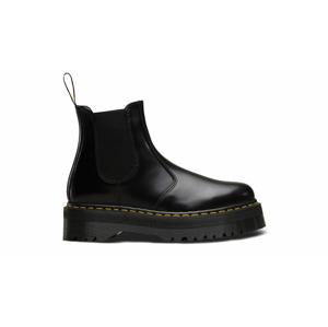 Dr. Martens 2976 Polished Smooth Platform chelsea boots-4 čierne DM24687001-4