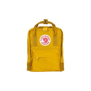 Fjällräven Kånken Mini Kids Warm Yellow žlté F23561-141 - vyskúšajte osobne v obchode