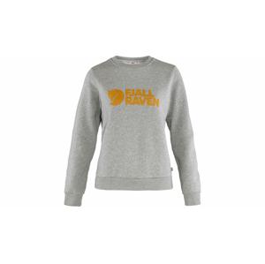 Fjällräven Logo Sweater W Grey Melange šedé F84143-020-999