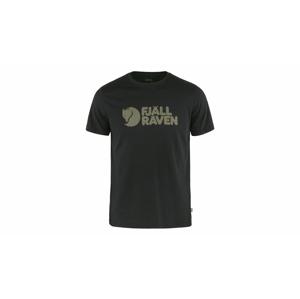 Fjällräven Logo T-Shirt M-L čierne F87310-550-L