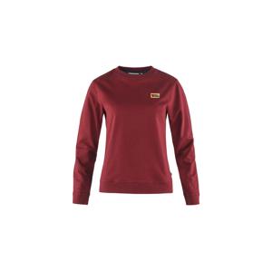 Fjällräven Vardag Sweater W Red Oak bordová F83519-345 - vyskúšajte osobne v obchode