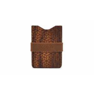 Gunton Wooden Wallet hnedé gunton_geo_3 - vyskúšajte osobne v obchode