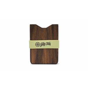 Gunton Wooden Wallet hnedé gunton_nat_lime - vyskúšajte osobne v obchode
