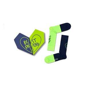 Happy Socks 2-Pack Bestie Socks Gift Set-M-L (41-46) zelené XBES02-6500-M-L (41-46)