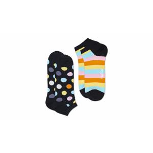 Happy Socks 2-Pack Big Dot Low Sock farebné BDO02-9300 - vyskúšajte osobne v obchode