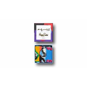 Happy Socks Andy Warhol Gift Box farebné XAWSKU08-9000 - vyskúšajte osobne v obchode