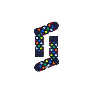 Happy Socks Big Dot Sock čierne BDO01-6550