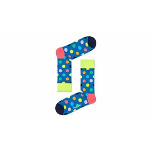Happy Socks Big Dot Sock modré BDO01-7500 - vyskúšajte osobne v obchode