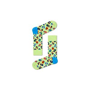 Happy Socks Can Sock zelené CAN01-7100