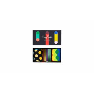 Happy Socks Classics Multicolor Gift Set farebné XCMC08-9300 - vyskúšajte osobne v obchode