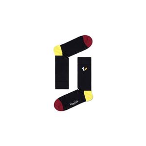 Happy Socks embroidery Fire Rabit Sock farebné BEFR01-9300 - vyskúšajte osobne v obchode