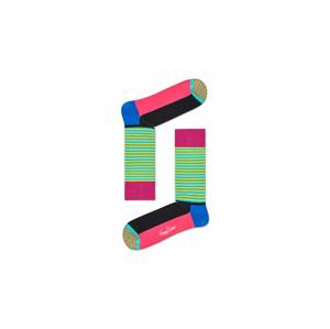 Happy Socks Half Stripe Sock farebné HAS01-5000