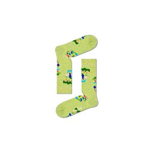 Happy Socks Healthy Glow Sock-S-M (36-40) zelené HLT01-7000-S-M (36-40)