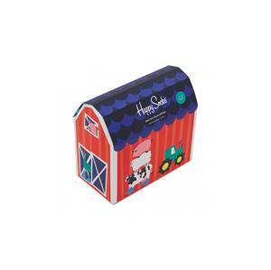 Happy Socks Kids Farm Socks Gift Set farebné XKFAR44-0200