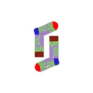 Happy Socks Tiger Rave Sock-S-M (36-40) fialové TRS01-5000-S-M (36-40)