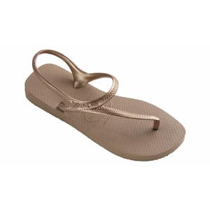 Havaianas Beach Sandals Women Rose Gold hnedé H4000039-3581