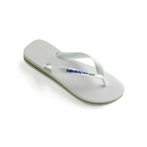 Havaianas Brasil Logo biele 4110850-0001 - vyskúšajte osobne v obchode