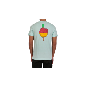 IrieDaily Big Bad Finger Tee-M tyrkysové 119039D-460-M