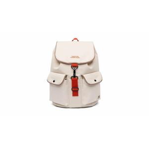 Lefrik Knapsack Backpack Ecru-One-size biele Knapsack_ECR-One-size