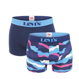 LEVI`S - 2 PACK Levi`s calm camo pink & blue boxerky -L (89 - 95 cm)