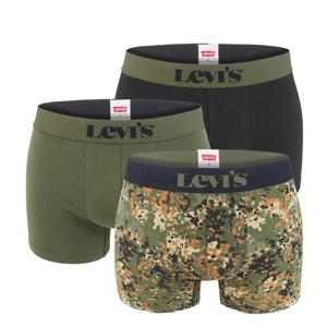 LEVI`S -  3PACK Levi`s dotted army green boxerky v darčekovom balení-XL (95 - 105 cm)