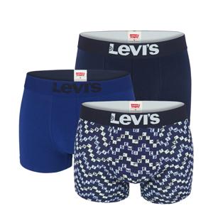LEVI`S -  3PACK Levi`s logo new blue boxerky v darčekovom balení-M (82 - 88 cm)