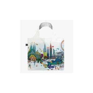 Loqi KRISTJANA S WILLIAMS INTERIORS World Skyline Bag biele KW.WS - vyskúšajte osobne v obchode