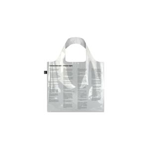 Loqi TRANSPARENT Universal Declaration of Human Rights Bag-One-size biele BA.TR.UN-One-size