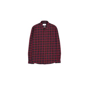Makia Area Shirt-L červené M60131_470-L