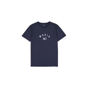 Makia Brand T-Shirt modré M21200-661 - vyskúšajte osobne v obchode