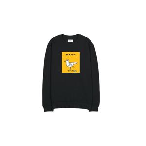 Makia Gully Sweatshirt-M čierne M41114_999-M